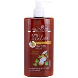 Vis Plantis Betula Alba Care regenerierende Körpermilch mit natürlichem Birkenpech  300 ml