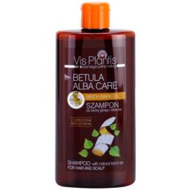 Vis Plantis Betula Alba Care jemný šampon na vlasy a vlasovou pokožku s přírodním dehtem břízy  300 ml