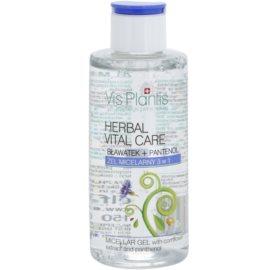 Vis Plantis Herbal Vital Care gel micelar 3 em 1 com extrato de centáurea e pantenol  150 ml