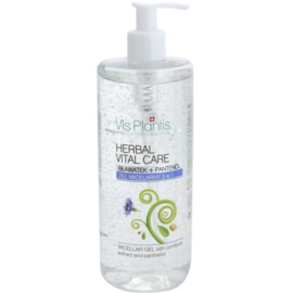 Vis Plantis Herbal Vital Care Micellar Gel 3 In 1 with Cornflower Extract and Panthenol  500 ml
