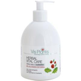 Vis Plantis Herbal Vital Care antibakteriálny gél na intímnu hygienu s dubovou kôrou a brusnicou  500 ml