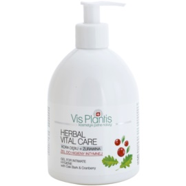Vis Plantis Herbal Vital Care gel antibacteriano para la higiene íntima  500 ml