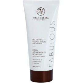 Vita Liberata Fabulous bezbarvý samoopalovací krém pro postupné opálení  200 ml