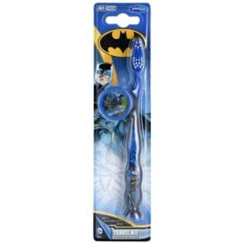 VitalCare Batman zubní kartáček pro děti s cestovní krytkou Soft