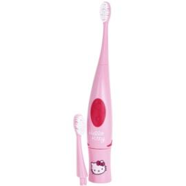 VitalCare Hello Kitty Escova de dentes com bateria e cabeça de substituição para crianças