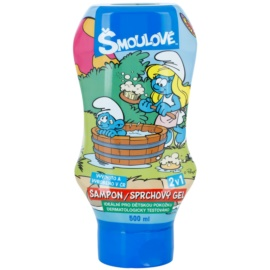 VitalCare The Smurfs Shampoo en Douchegel voor Kinderen  2 in 1  500 ml