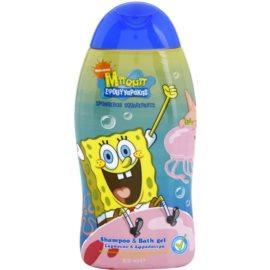 VitalCare SpongeBob šampon a sprchový gel pro děti 2 v 1  300 ml