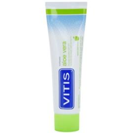 Vitis Aloe Vera pasta pro kompletní ochranu zubů a svěží dech příchuť Apple Mint 100 ml
