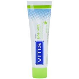 Vitis Aloe Vera pasta pre kompletnú ochranu zubov a pre svieži dych príchuť Apple Mint 100 ml
