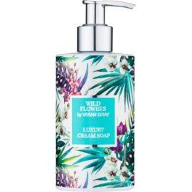 Vivian Gray Wild Flowers cremige Seife für die Hände  250 ml