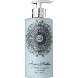 Vivian Gray Aroma Selection Amber & Cedar krémes folyékony szappan  400 ml