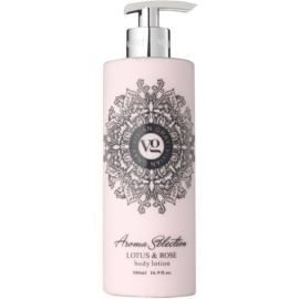 Vivian Gray Aroma Selection Lotus & Rose losjon za telo  500 ml