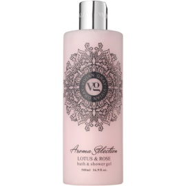 Vivian Gray Aroma Selection Lotus & Rose Dusch- und Badgel  500 ml