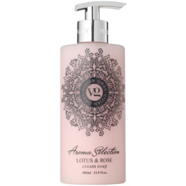 Vivian Gray Aroma Selection Lotus & Rose krémové tekuté mydlo  400 ml