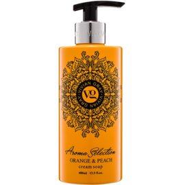 Vivian Gray Aroma Selection Orange & Peach kremasto tekoče milo  400 ml