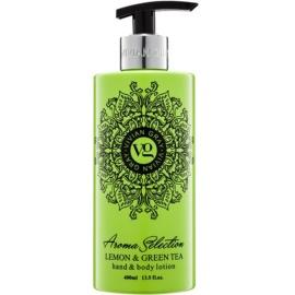 Vivian Gray Aroma Selection Lemon & Green Tea Hand and Body Lotion  400 ml