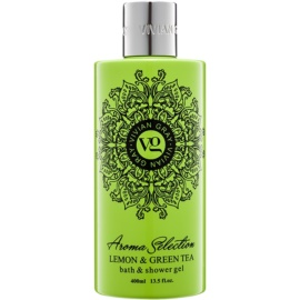 Vivian Gray Aroma Selection Lemon & Green Tea tusoló- és fürdőgél  400 ml