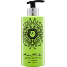 Vivian Gray Aroma Selection Lemon & Green Tea Cream Liquid Soap  400 ml