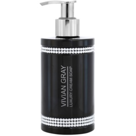 Vivian Gray Crystals Black krémes szappan  200 ml