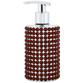 Vivian Gray Precious Crystals Red luxusní tekuté mýdlo na ruce  250 ml