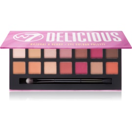 W7 Cosmetics Delicious paleta očních stínů  11,2 g