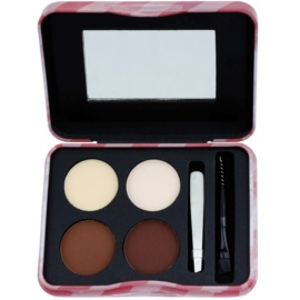 W7 Cosmetics Brow Parlour set pentru sprancene perfecte  5 g