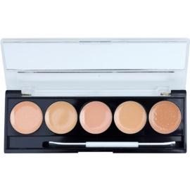 W7 Cosmetics Camouflage Kit paleta korektorů se zrcátkem a aplikátorem  2 g