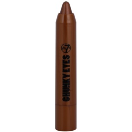 W7 Cosmetics Chunky Eyes sombra em lápis tom Cappuccino 2,5 g