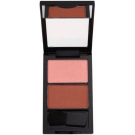 W7 Cosmetics Duo Blusher tvářenka se štětečkem odstín 04 7 g