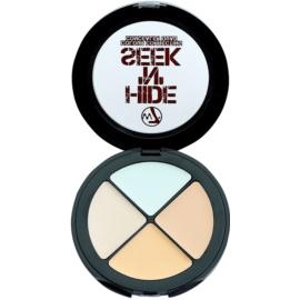 W7 Cosmetics Hide 'N' Seek korektor proti nedokonalostem pleti odstín Green  5 g