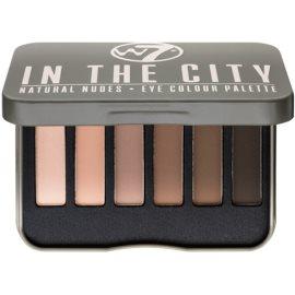 W7 Cosmetics In the City палитра от сенки за очи  7 гр.