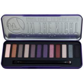 W7 Cosmetics In the Night paleta cieni do powiek z aplikatorem  15,6 g