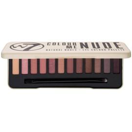 W7 Cosmetics In the Nude paleta očních stínů s aplikátorem  15,6 g