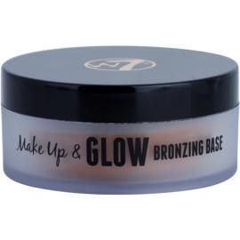 W7 Cosmetics Make Up & Glow krémový bronzer  35 g