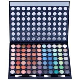 W7 Cosmetics Paintbox paleta očních stínů se zrcátkem a aplikátorem  481 g