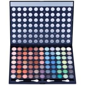 W7 Cosmetics Paintbox палетка тіней з дзеркальцем та аплікатором  481 гр