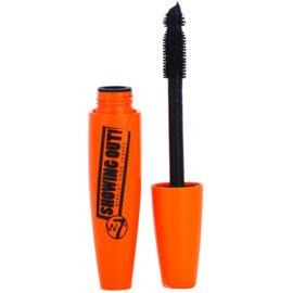 W7 Cosmetics Showing Out řasenka pro prodloužení a natočení řas odstín Black 15 ml