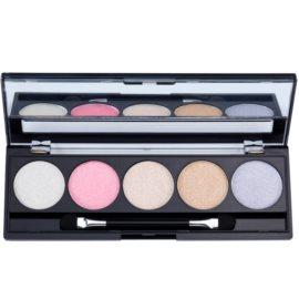 W7 Cosmetics The Big Five paleta očních stínů se zrcátkem a aplikátorem  4 g