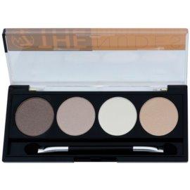 W7 Cosmetics The Nudes paleta cieni do powiek z aplikatorem  5,6 g