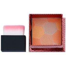 W7 Cosmetics The Honey Queen Puder-Rouge mit Pinselchen  8 g