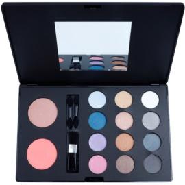 W7 Cosmetics The Tool Kit multifunkční paleta se zrcátkem a aplikátorem  46,8 g