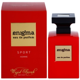 Wajid Farah Enigma Sport Eau de Parfum für Herren 100 ml