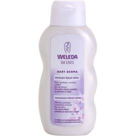 Weleda Baby Derma beruhigende Hautmilch für Kinder  200 ml