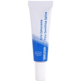 Weleda Dental Care dentífrico com sal marinho   10 ml