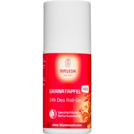 Weleda Pomegranate Aluminium Salts Free Deodorant Roll-On 24 h  50 ml