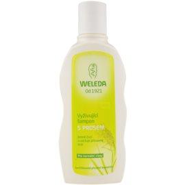 Weleda Hair Care vyživující šampon s prosem pro normální vlasy  190 ml