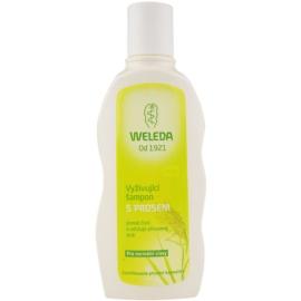 Weleda Hair Care поживний шампунь з просом для нормального волосся  190 мл