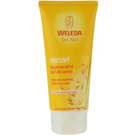 Weleda Oat condicionador regenerador para cabelo seco a danificado  200 ml