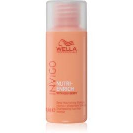 Wella Professionals Invigo Nutri - Enrich intenzivno hranilni šampon  50 ml