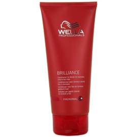 Wella Professionals Brilliance балсам за фина боядисана коса  200 мл.